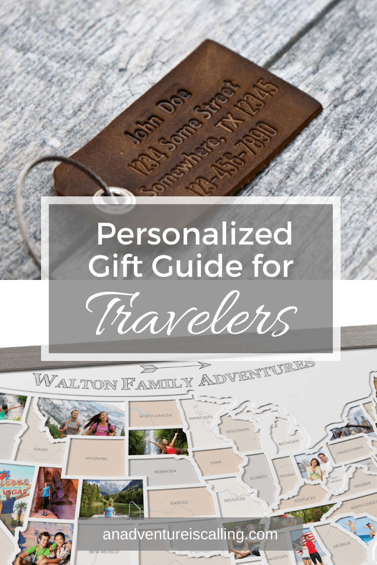 Personalized Gifts for Travelers | An Adventure is Calling
